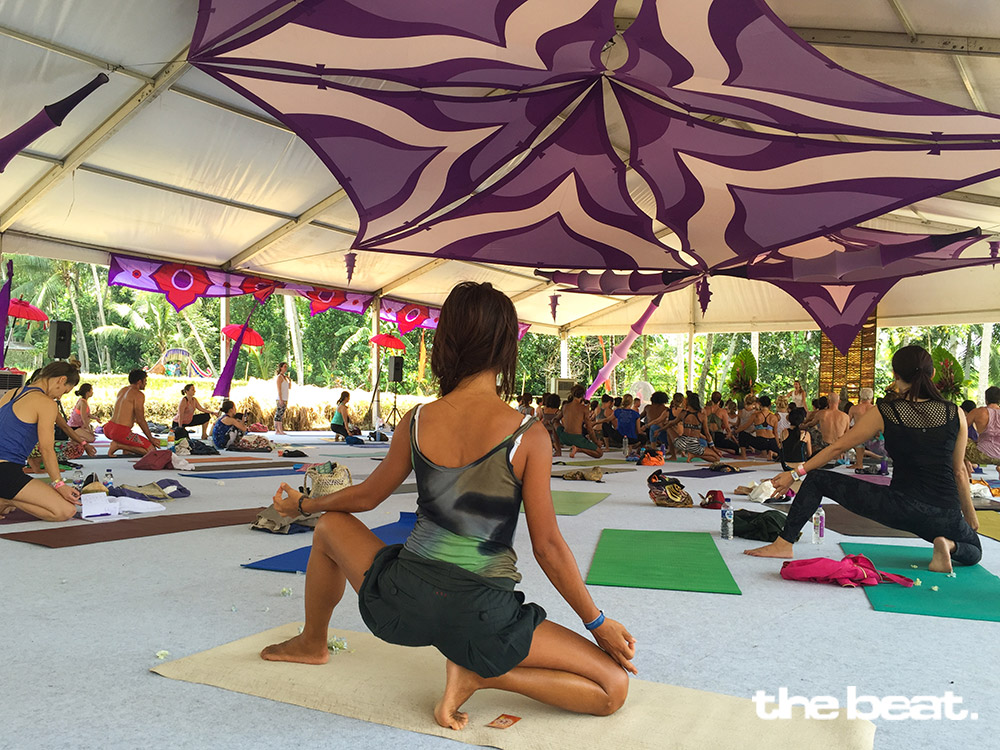 Vinyasa Yoga at the Main Pavillion with Tymi Howard