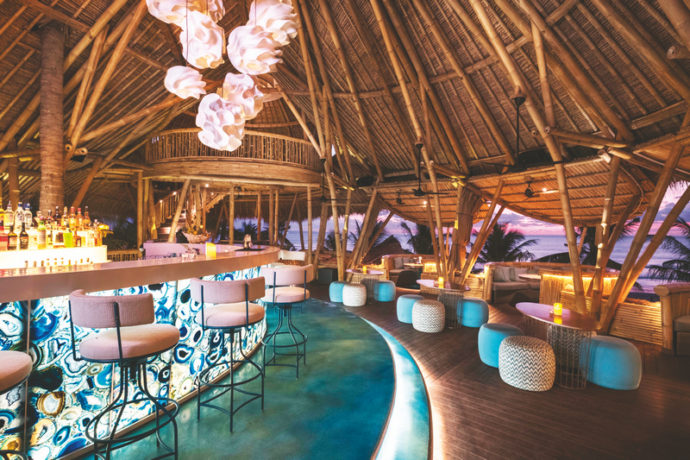 New Place Tiki Room At Azul Beach Club