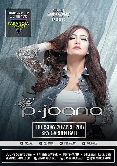 Princess Joana at Sky Garden on April 20 | The Beat Bali