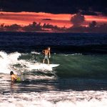 Surfing under Lights and Happy Hour Nightly at Finns Beach Club
