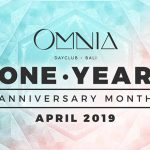 Omnia One Year Anniversary Month April 2019